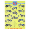 AJS Multi Motorcycles Advertising Poster