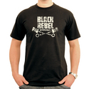 Black Rebel Big Logo T-shirt