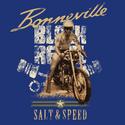 Black Rebel Bonneville Salt & Speed Blue T-shirt