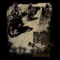 Black Rebel Cafe Racer T-shirt Black