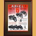 1951 Ariels Big Six Advertising Poster