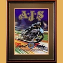 AJS Isle of Man TT Poster