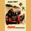 Castrol with Liquid Tungsten Poster