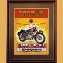 Royal Enfield Meteor 700 Advertising Poster