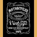 Vintage Spirit Tshirt-black