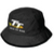 15ABH Adult Black Bucket Hat