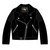 15LJ1 Ladies Leather Black Jacket OFFICIAL TT