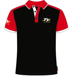 19AP3 - Black and Red TT Polo Shirt