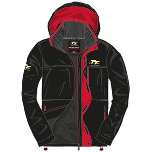 20AJKT4 - Black and Red Jacket. Official Isle of Man TT