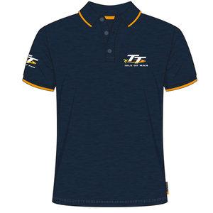 20AP5 - Navy TT Polo Shirt Official Isle of Man