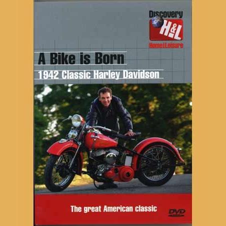 A Bike Is Born Harley Davidson Dvd