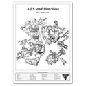 A.J.S. and Matchless 500 Twins Engine Spec Poster