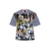 ALL OVER PRINT T-SHIRT MULTI COLOUR
