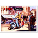 ARIEL Leader Motorcycle Classic Advertising Poster