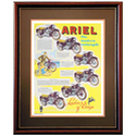 ARIEL Multi Motorcycles Advertising Poster