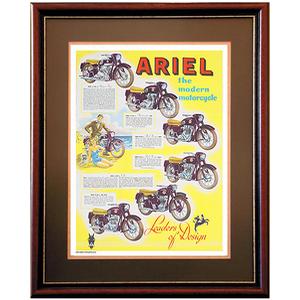 ARIEL Multi Motorcycles Advertising Poster