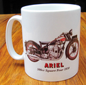 Ariel 500cc Square Four 1930 Mug