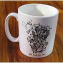 BSA Gold Star Engine Mug