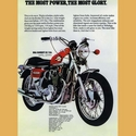 BSA Rocket-3-750 Advertising Poster