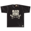 Black Rebel Big Logo T-shirt