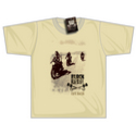 Black Rebel Cafe Racer T-shirt Sand