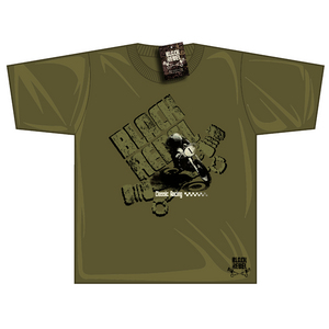 Black Rebel Classic Racing T-shirt Khaki