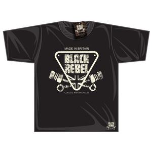 Black Rebel Made In Britain T-shirt
