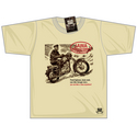 Black Rebel Jawa Motorcycle T-shirt