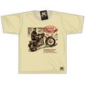 Black Rebel Jawa Motorcycle T-shirt