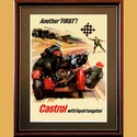 Castrol with Liquid Tungsten Poster