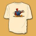 SoCal Favor, Sand Colour Motorbike T-Shirt