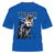 Official Isle of Man TT Closer to the Edge T-Shirt Blue