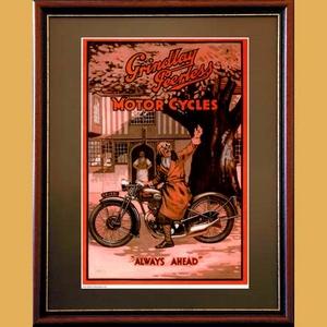 Grindlay Peerless Always Ahead Poster