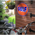 Gulf Reproduction Metal Sign