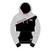 Hoodie Heather Grey/Black Official Adult TT - 15AH5