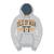 Hoodie Heather Grey/Orange Official Adult TT - 15AH4