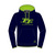 Hoodie Navy/Green Official Adult TT - 15AH3