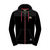 Hoodie Zip Black/Jacket Material Shoulder Official Adult TT - 15AH7