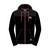 Hoodie Zip Black/Jacket Material Shoulder Official Adult TT - 15AH7
