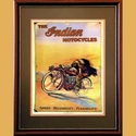 Indian Motorcycles Advertising Poster