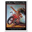 Indian Motorcycles Poster