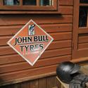 John Bull Tyres Reproduction Metal Sign