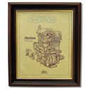 MATCHLESS 650 Gold Leaf Limited Edition Engine Drawing