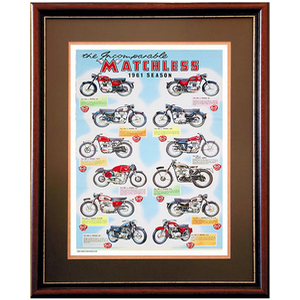 MATCHLESS Multi Motorcycles Advertising Poster