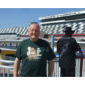 Malcolm Wheeler Wearing his new Red Lizard t-shirt at Daytona