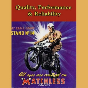 Matchless 500 Single Advertising Poster