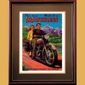 Matchless Twin Advertising Poster