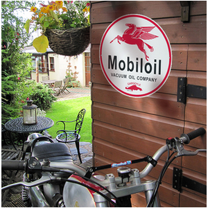 Mobil Oil Reproduction Metal Sign