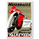 Motor Races Advertising Poster