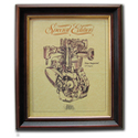 NEW IMPERIAL Gold Leaf Limited Edition Engine Drawing